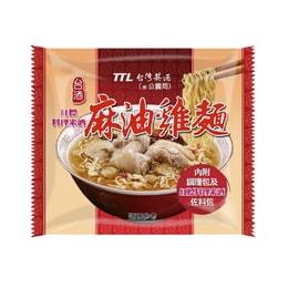 [臺灣直郵]臺酒 麻油雞袋面 200g/單包(限購2包)