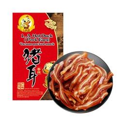 火爆鴨 特產風味 香辣豬耳 400g/USDA 認證
