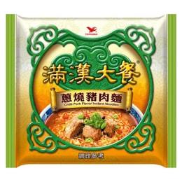 [臺灣直郵] 統一滿漢大餐 蔥燒豬肉面 200g /單包(限購2包)