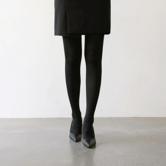 【韩国直邮】CHERRYKOKO 换季稍厚塑形防勾丝连裤袜80D 黑色 均码