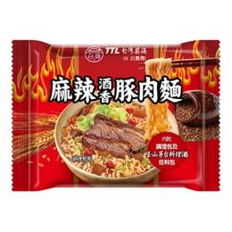 [臺灣直郵]臺酒 麻辣酒香豚肉袋面 200g / 單包(限購2包)
