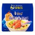 康師傅 鮮蝦魚板面 方便面 量販裝 5包入 475g