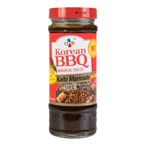 CJ Korean BBQ Original Sauce Kalbi Marinade for Ribs 480g ...