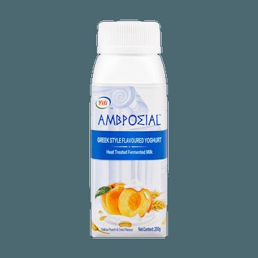 安慕希 希臘風味酸奶 黃桃燕麥味 200g 包裝隨機發送