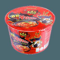 韓國SAMYANG三養 2倍加辣雞肉味拌面 桶裝 105g