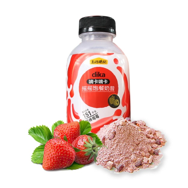 Product Detail - WUGUMOFANG Meal Replacement Strawberry Milk Shake 41g - image 0