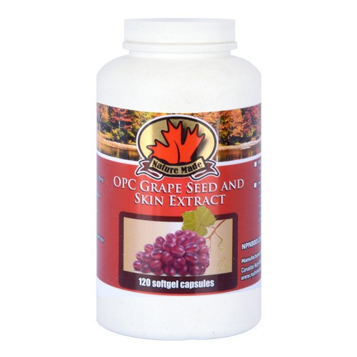 Grapeseed extract for skin