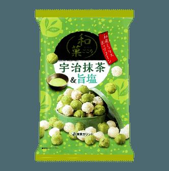 日本TOKYO KARINTO 咸爆米花 抹茶口味 65g