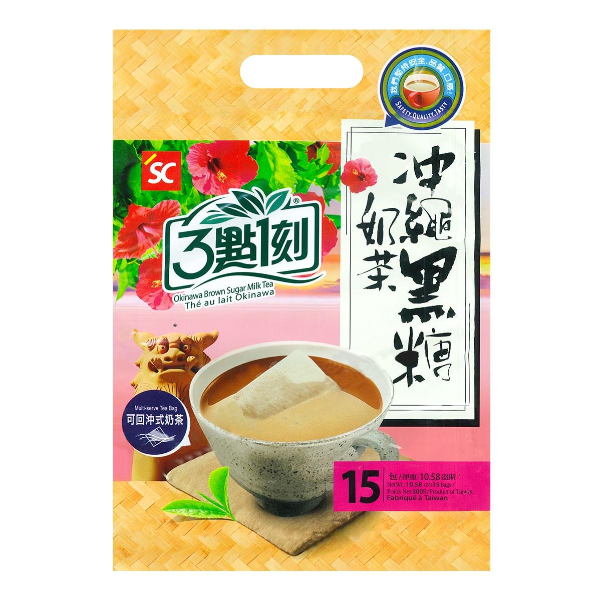 3:15PM Okinawa Brown Sugar Milk Tea 15Bags