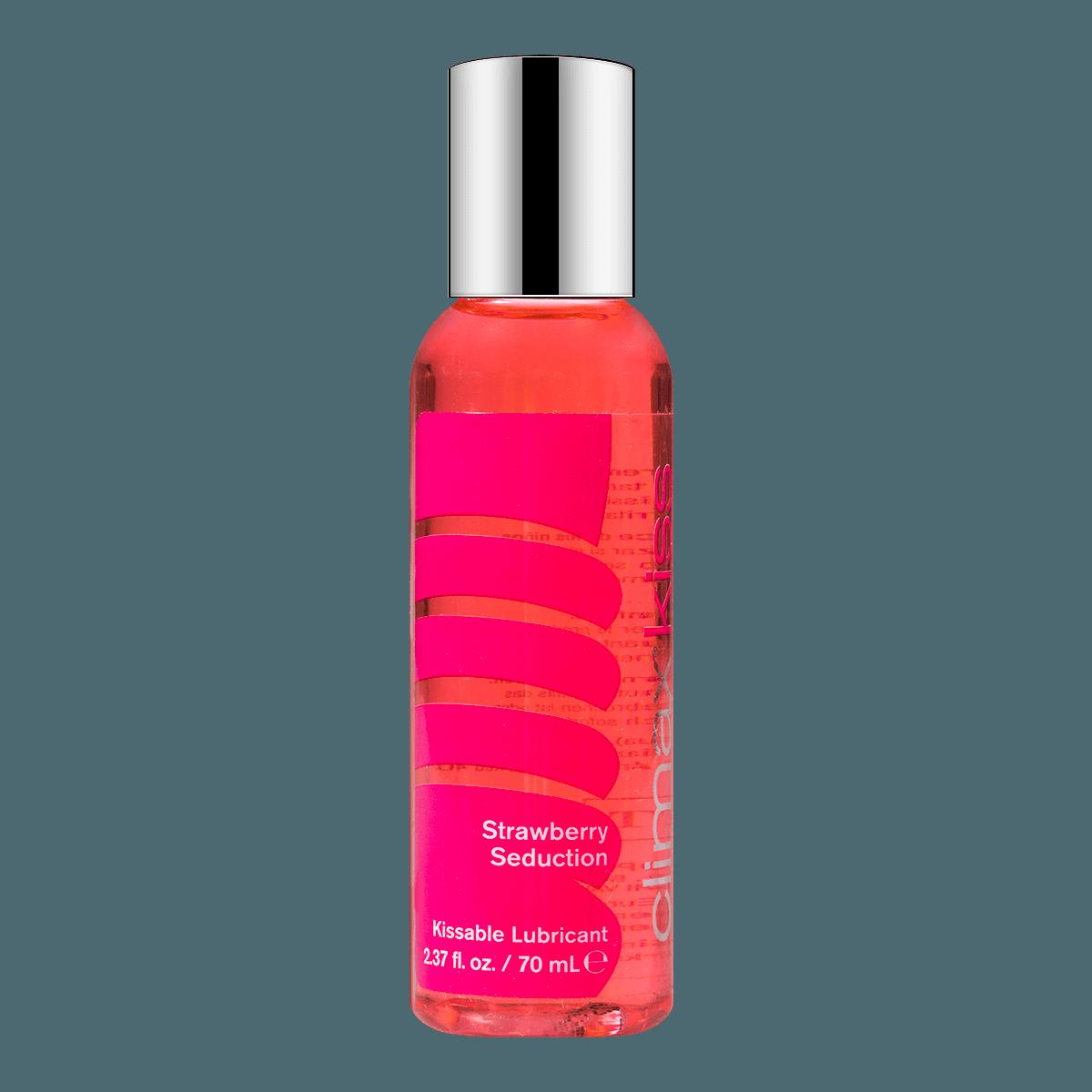 成人用品 美国TOPCO CLIMAX KISS 可食用润滑液 草莓味 70ml