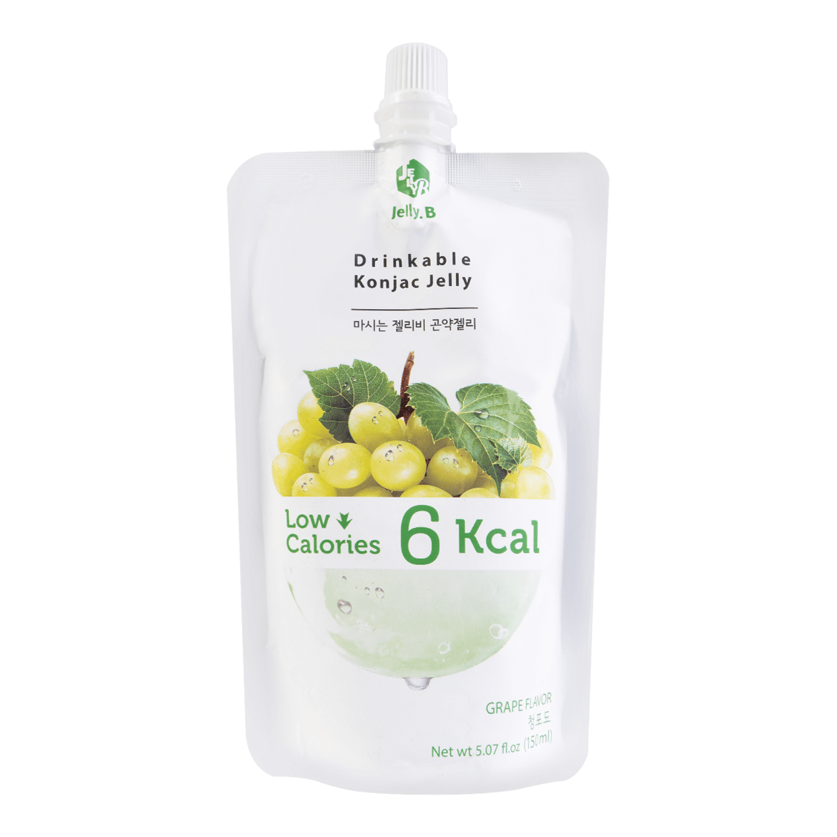 Jelly B. Konjac Drink Grape Flavor Low Calories Drink 150ml