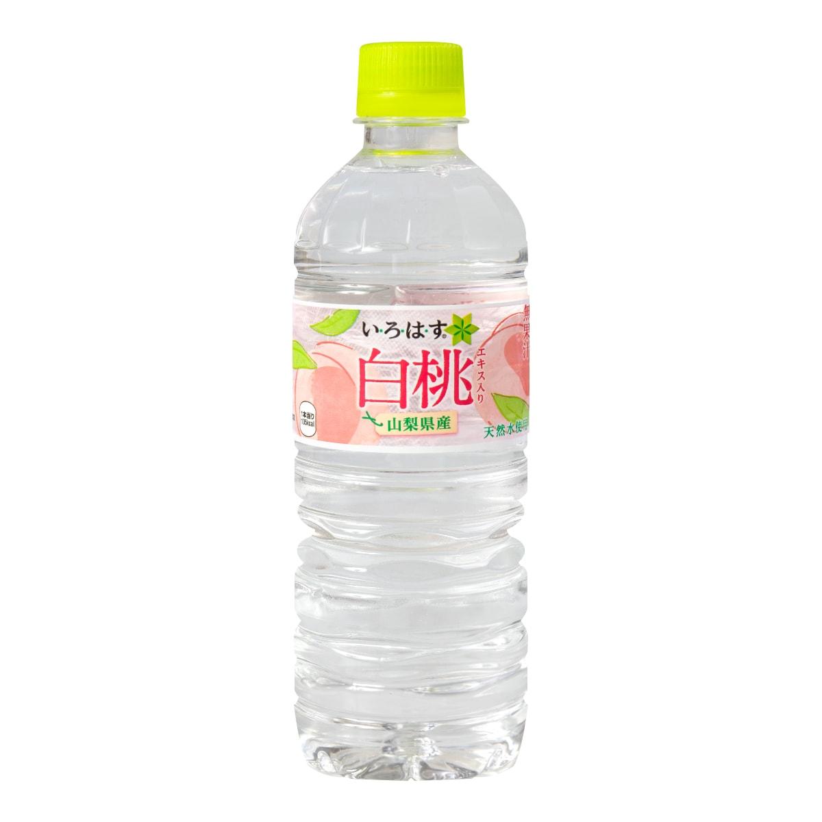 日本I LOHAS 无色透明水蜜桃口味矿泉水 555ml
