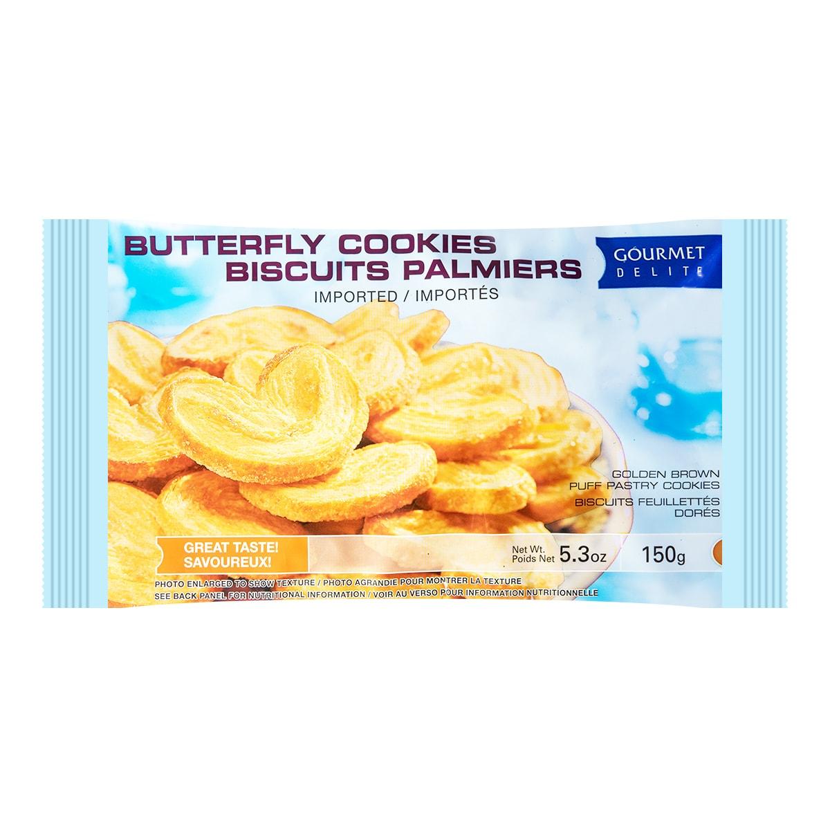 GOURMET Butterfly Cookies 150g