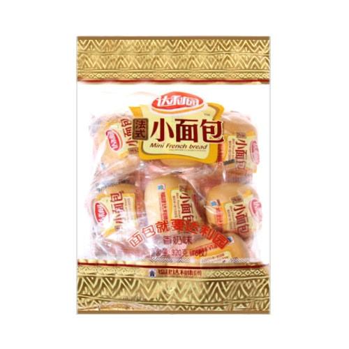 福建达利集团 达利园 法式小面包 香奶味 320g