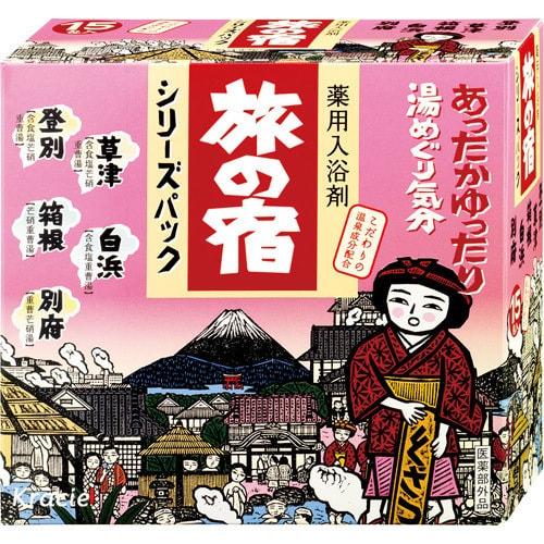 KRACIE TABINO YADO Bath Salts Clear 15 Pieces
