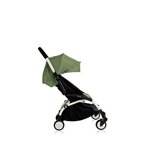 法国Babyzen yoyo+ 婴儿手推车可坐可躺折叠儿童宝宝伞车 白杆架/绿色 6+