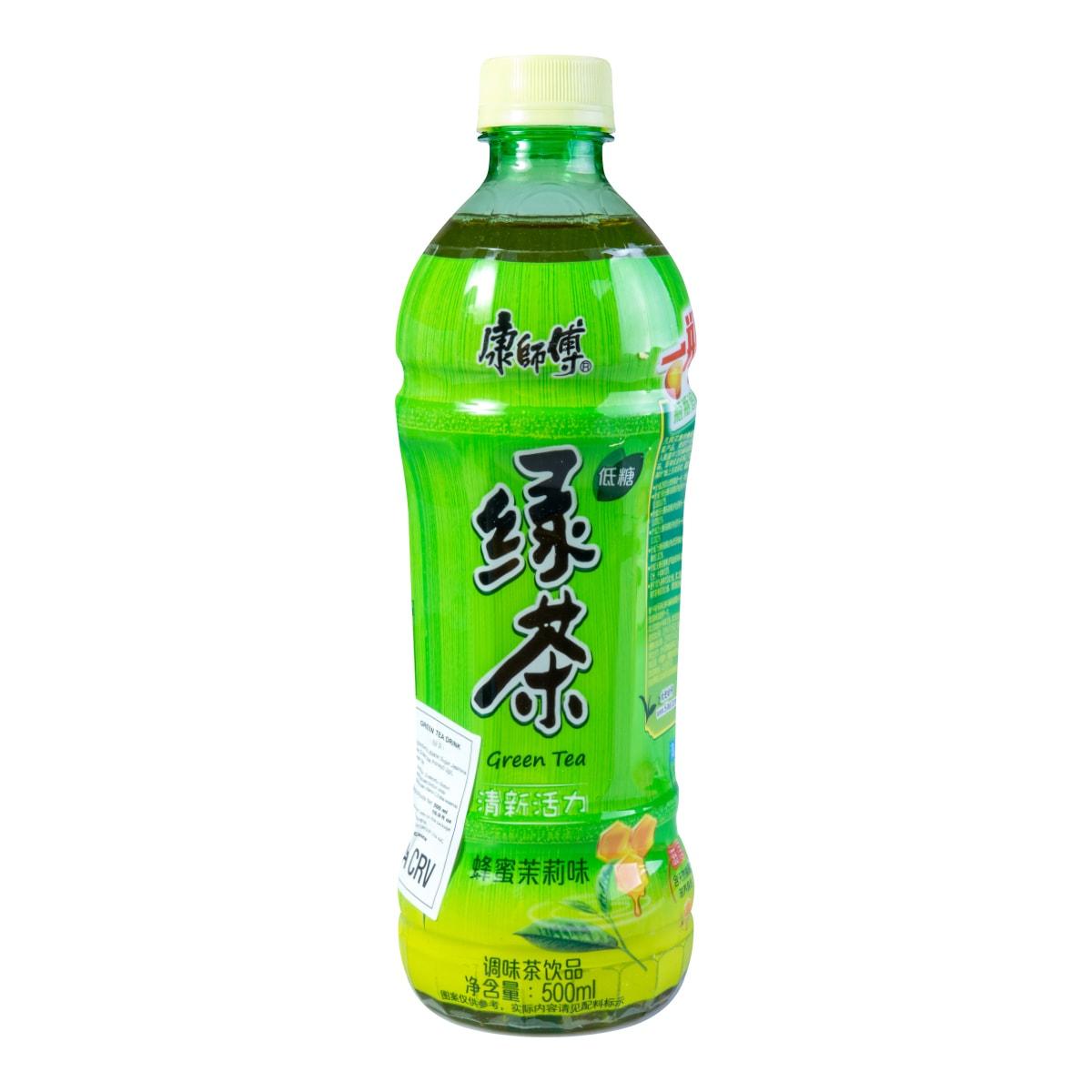 康师傅 低糖绿茶 蜂蜜茉莉味 500ml