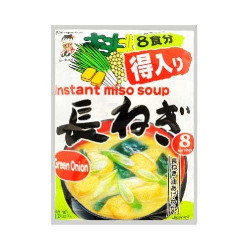 SHINSYU-ICHI Instant Miso Soup Green Onion Flavor 8bags