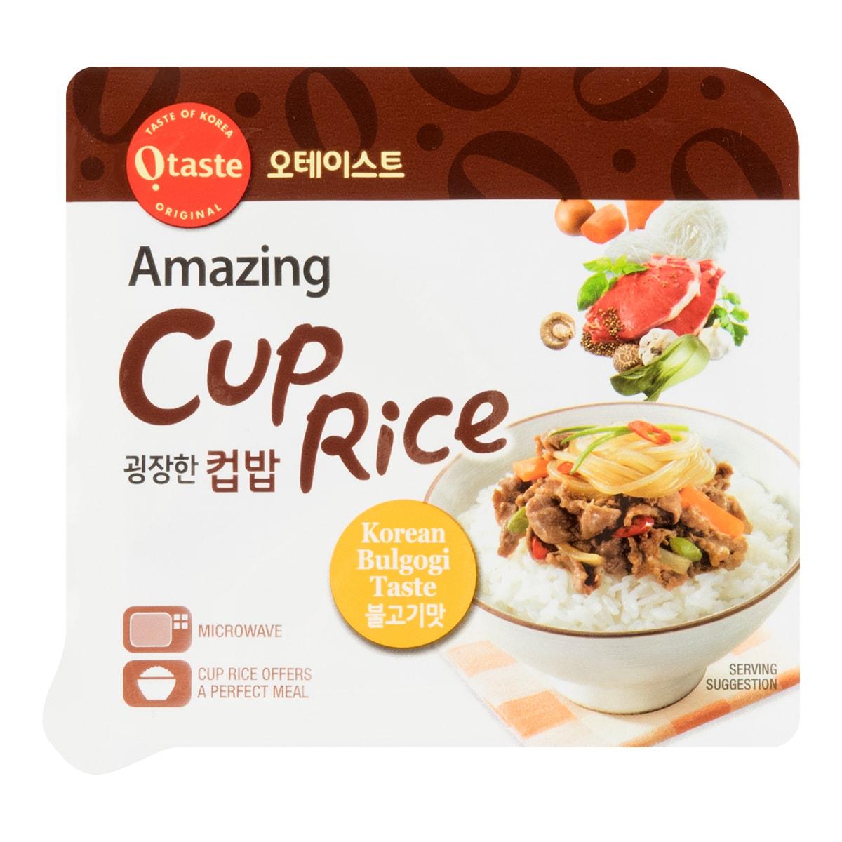韩国OTASTE 即食韩式拌饭 烤牛肉拌饭 90g
