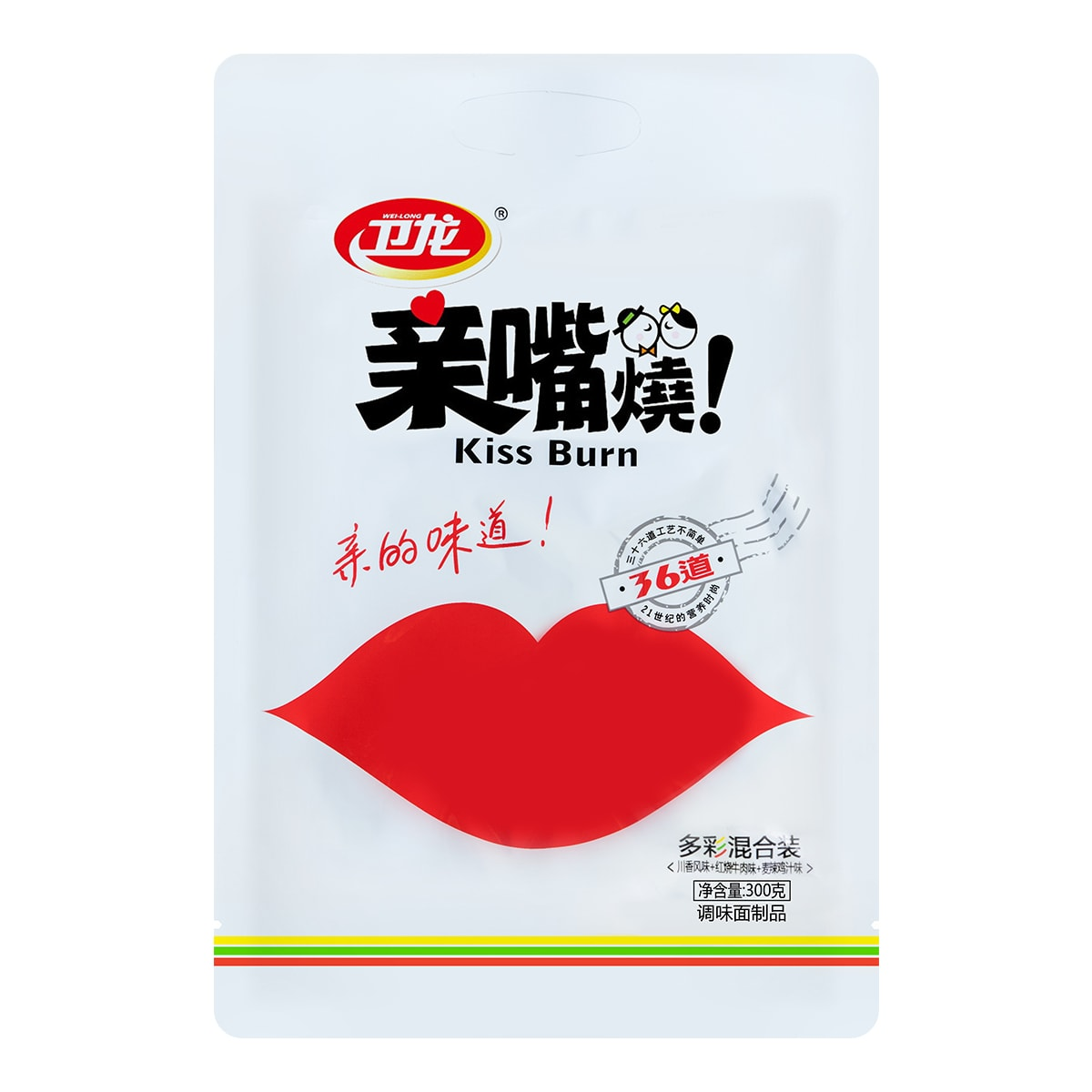 WEILONG Kiss Burn Seasoned Flour Products 300g