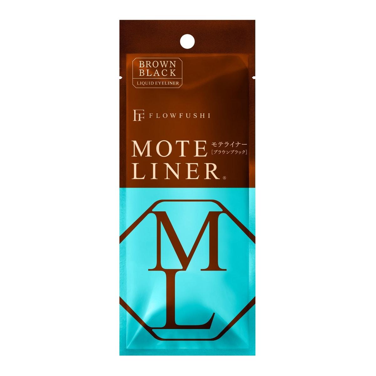FLOWFUSHI MOTE LINER Liquid Eyeliner #BrownBlack 0.55ml