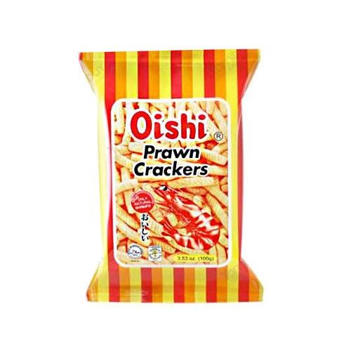 OISHI上好佳 鲜虾条 原味 60g 童年回忆