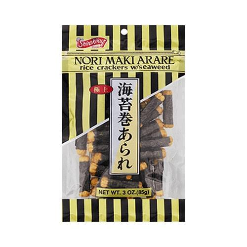 日本SHIRAKIKU 海苔卷米果 85g