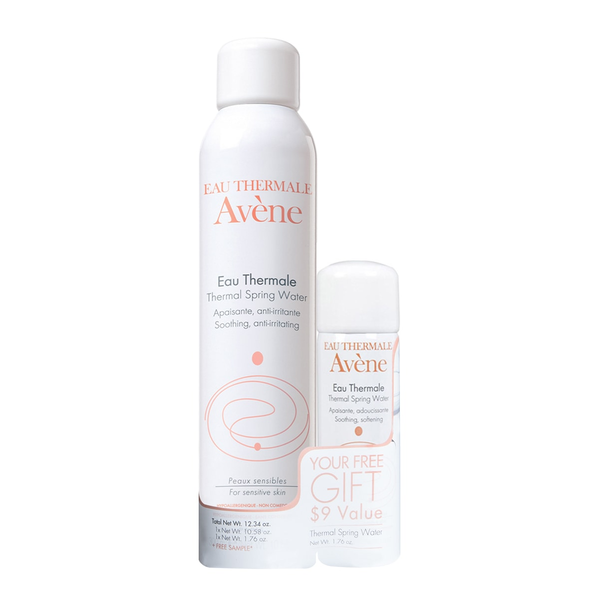 AVENE EAU THERMALThermal Spring Water spary duo pack 300ml+50ml