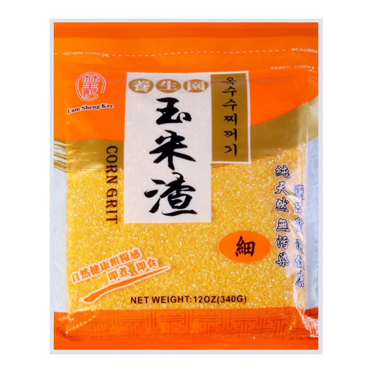 香港林生记 养生细玉米渣  340g