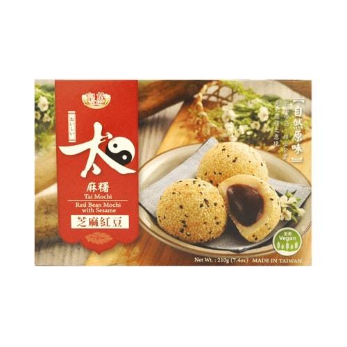 ROYAL FAMILY Tai Mochi Red Bean Mochi With Sesame 210g