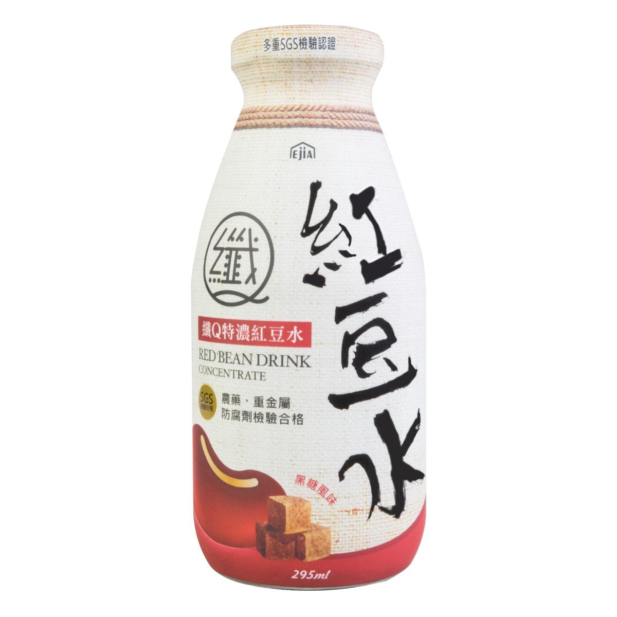 台湾易珈生技 纤Q特浓红豆水 黑糖风味  295ml 隋棠推荐