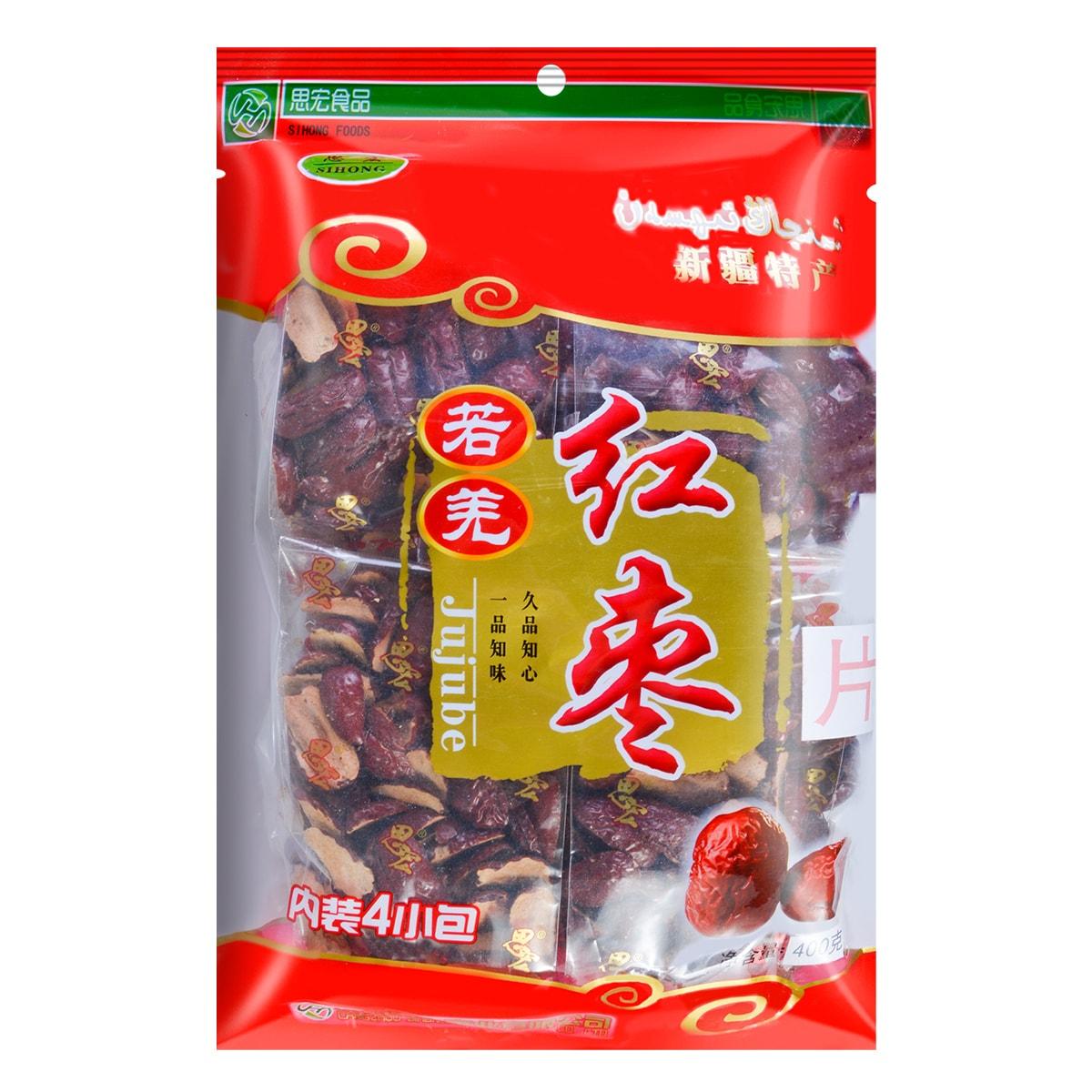 思宏 新疆若羌红枣片  即食 400g