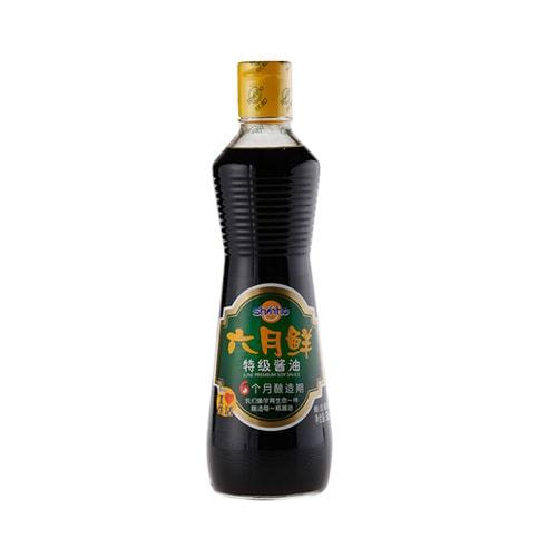 欣和 六月鲜 无添加 特级酱油 500ml
