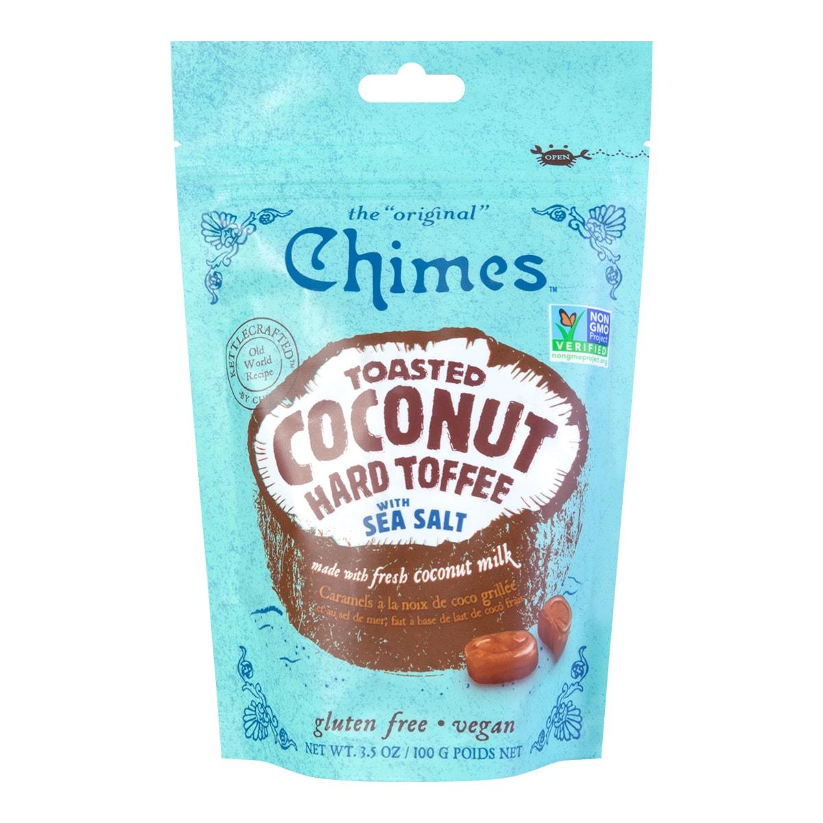 马来西亚CHIMES 海盐风味椰子太妃糖 100g