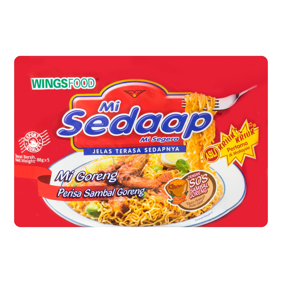 SEDAAP SPICY FRIED NOODLES 440g