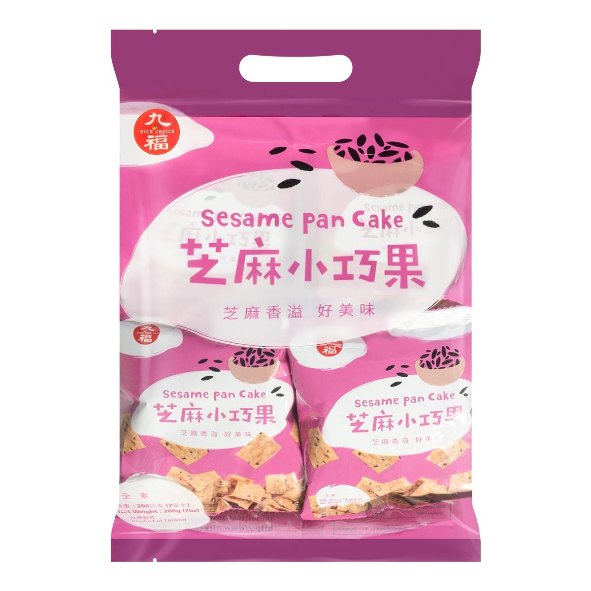 台湾九福 芝麻小巧果 200g