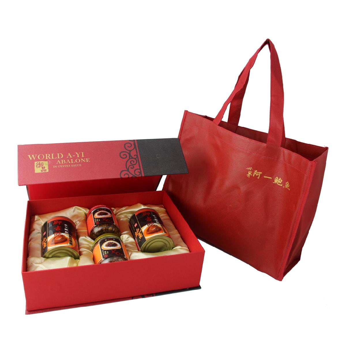【台湾直邮】台湾 世界阿一鲍鱼 御吉皇家礼盒