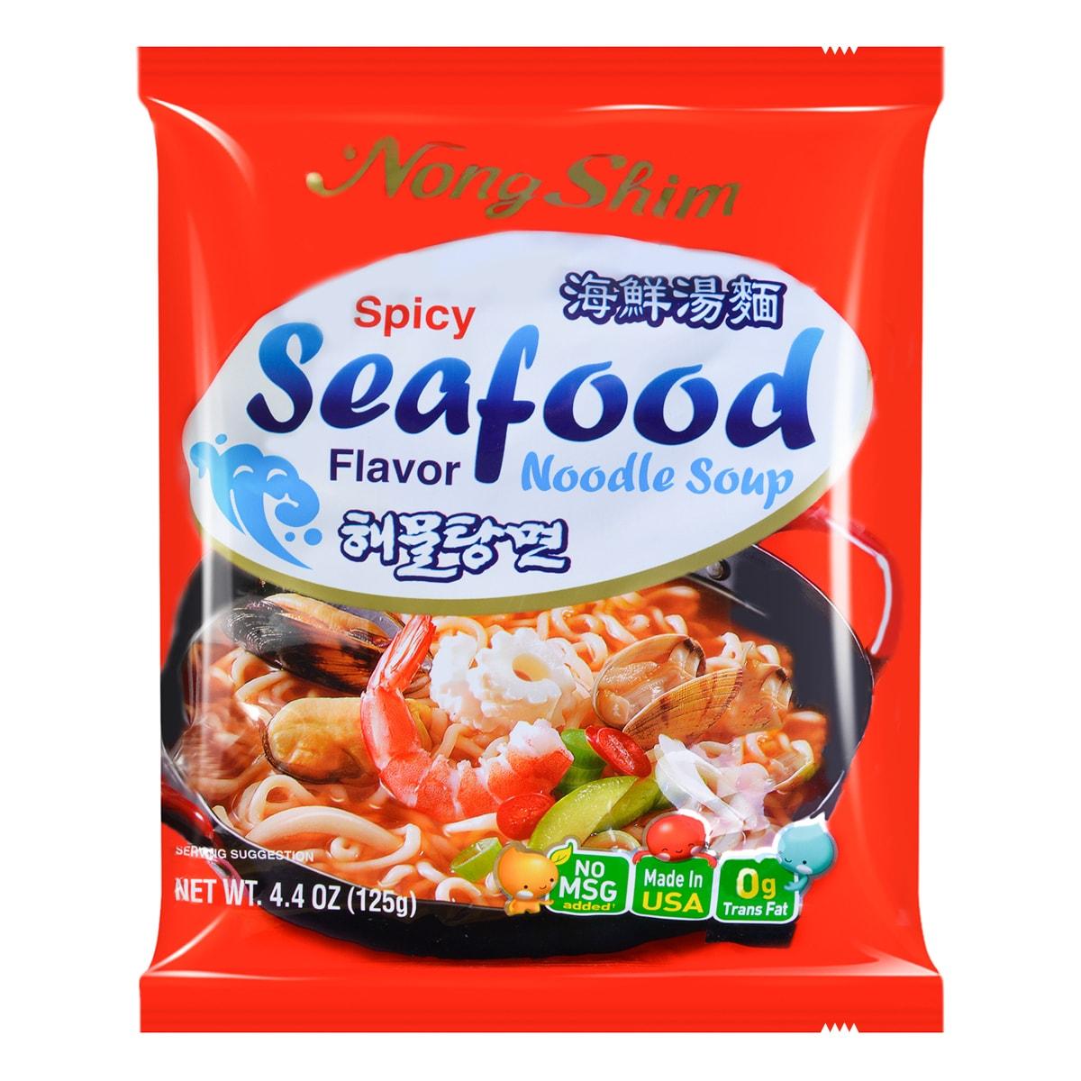 NONGSHIM Seafood Soup Ramyun 125g