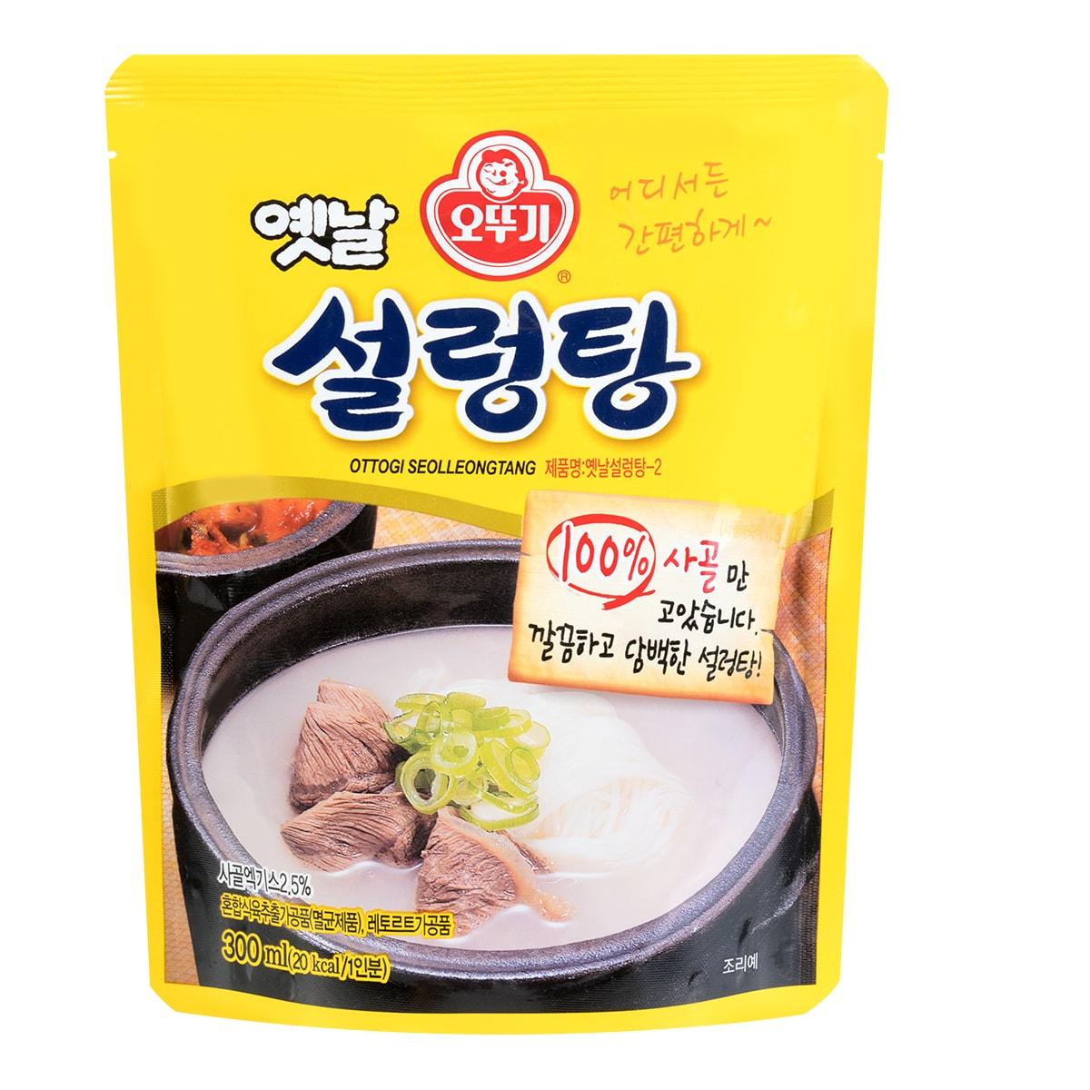 韩国OTTOGI不倒翁 牛肉浓汤 300ml