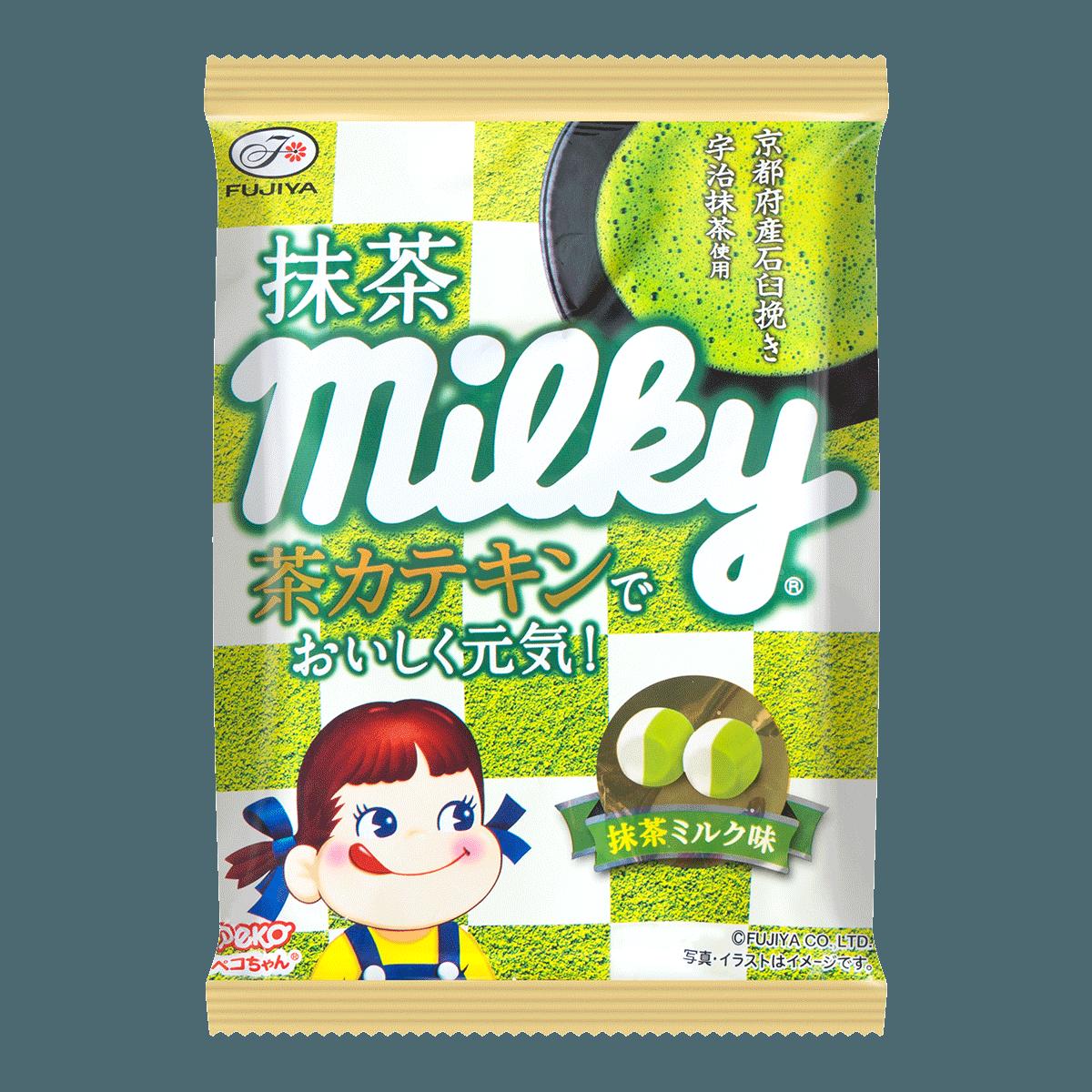 日本FUJIYA不二家 宇治抹茶牛奶糖 80g