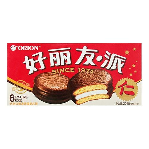 韩国ORION好丽友 巧克力派 6枚入