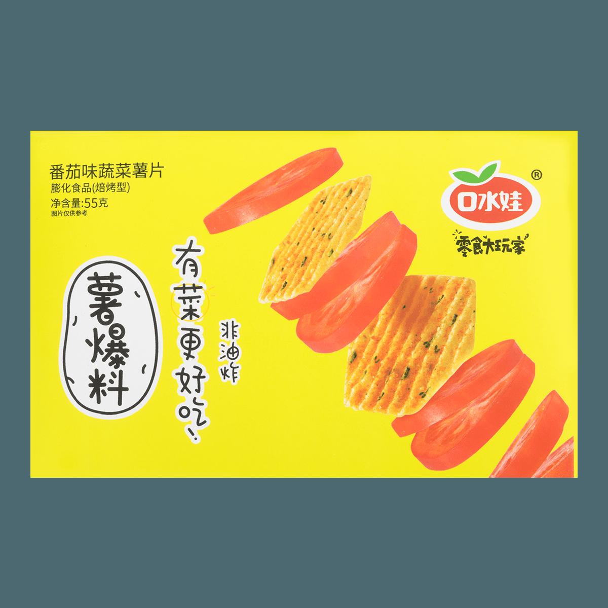 KOUSHUIWA Vegetable Potato Chips Tomato Flavor 55g