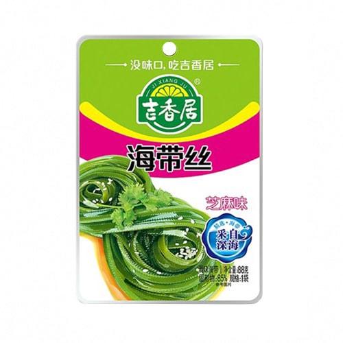 吉香居 即食小菜 海带丝 芝麻味 88g 四川特产