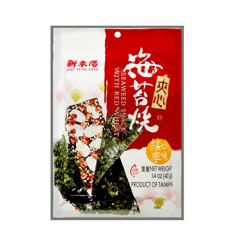 HSIN TUNG YANG Seaweed Snack With Red Wheat 40g