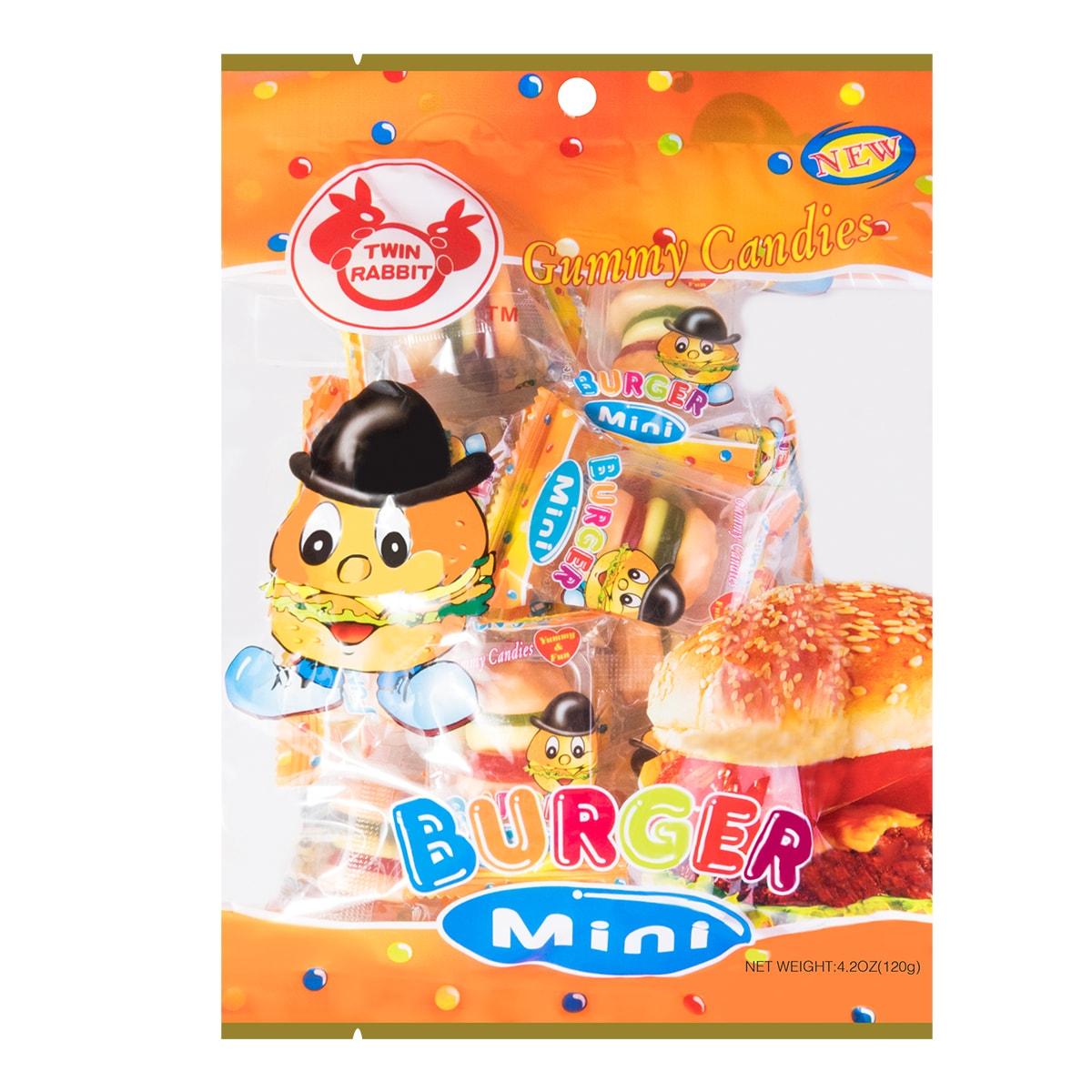 TWIN RABBIT 汉堡软糖 120g