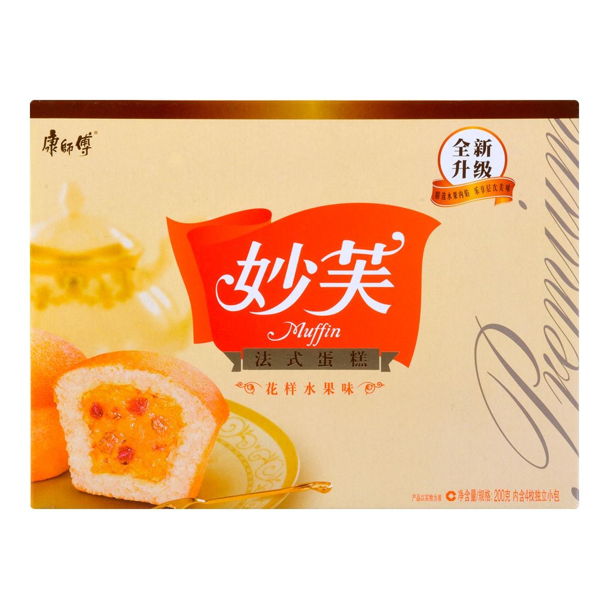 康师傅 妙芙 法式蛋糕 花样水果味 200g