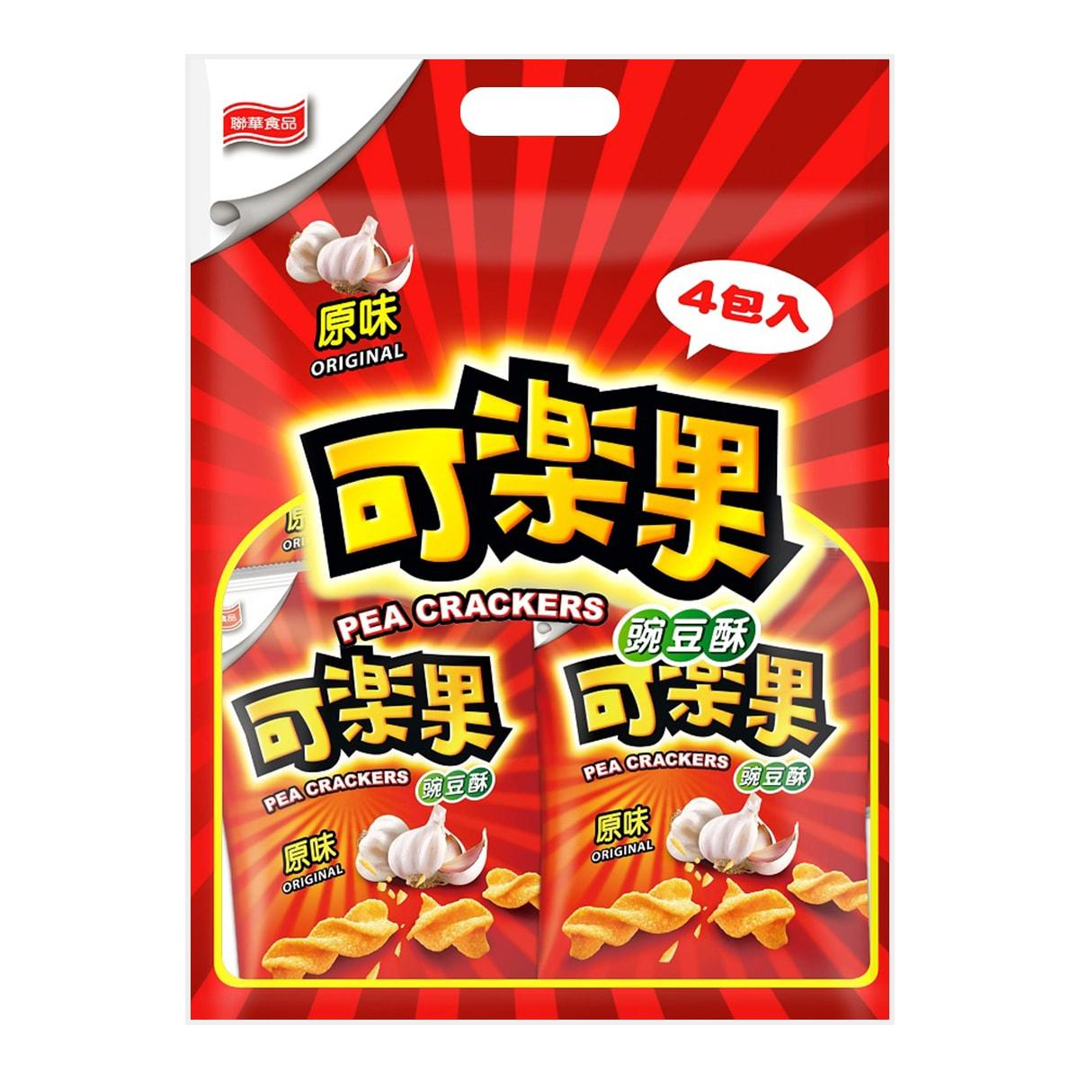 台湾LIANHWA联华食品 可乐果 豌豆酥 原味 4包入 228g
