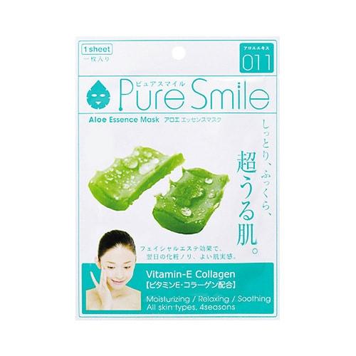 日本PURE SMILE 精华素面膜芦荟 单片入