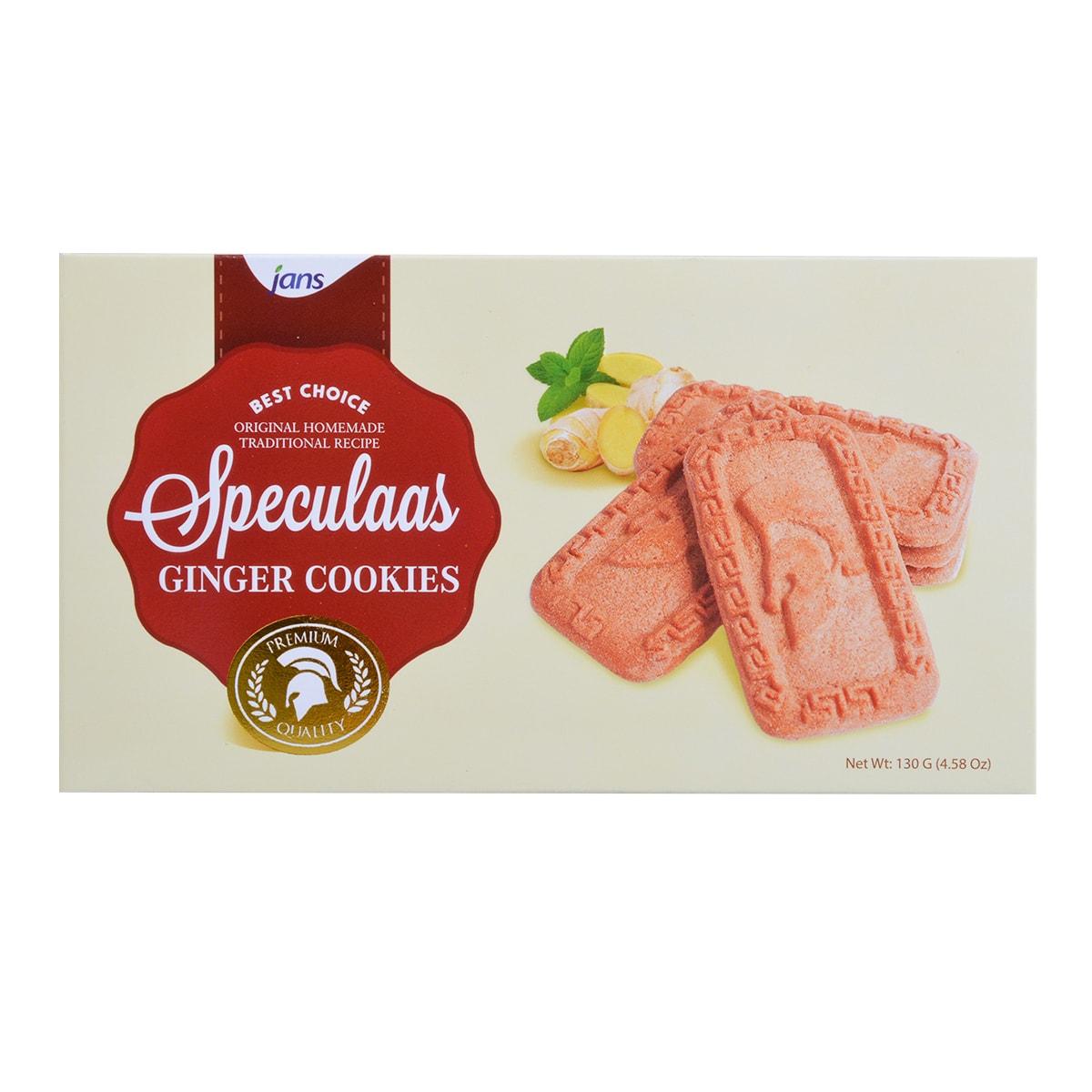 印尼JANS SPECULAAS姜饼 130g