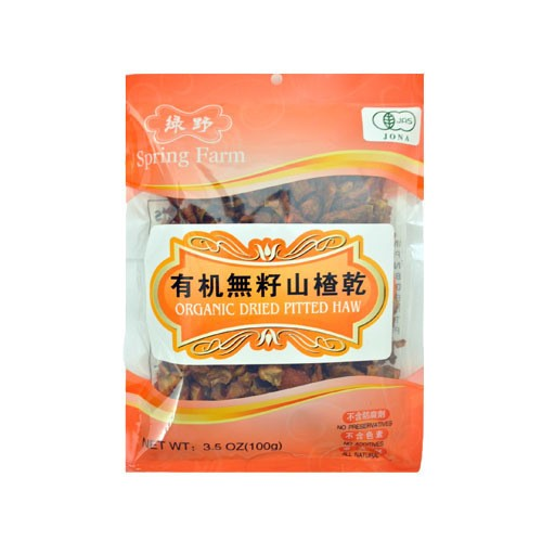 SPRING FARM Organic Dried Pitted Haw 100g